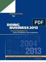 Fiji Doing Business 2013