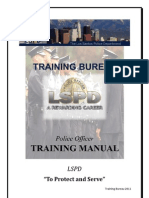 LSPD - TB - Police Officer Manual v6