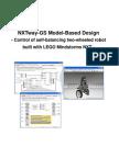 NXTway GS Model Based Design