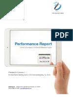 Retiremap Plan Sponsor Performance Report