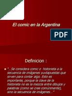 El Comic en La Argentina