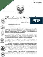 Plan Nacional de Salud Bucal Rm516-2008