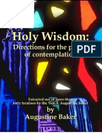 Holy Wisdom_ or, Directions for the Pray - Augustine Baker