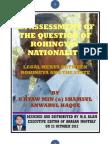 ARAKAN- Question of Rohingya's Nationality