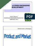 Trends of Food Packaging
