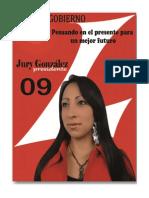 PLAN DE GOBIERNO JURY GONZÁLEZ PARTIDO LIBERAL