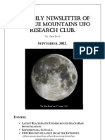 The Blue Mountains UFO Research Club Newsletter - September 2012