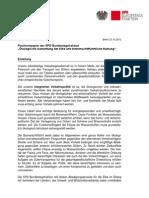 Ökologische Aufwertung der Elbe und binnenschifffahrtliche Nutzung - Positionspapier der SPD-Bundestagsfraktion