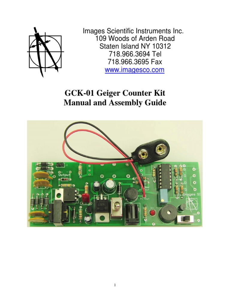 Gck01 Manual Radioactive Decay Gamma Ray Geiger Counter Schematic Viewing Gallery