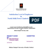 Project on Employees Satisfaction