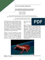 Nota de Dendrophryniscus Berthalutzae