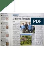 La Apuesta Ligera de TwoNav - La Vanguardia - Octubre 2012
