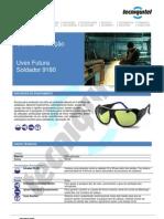 Óculos Futura Soldador 9180