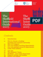 Sheffield University International Guide