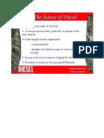 Diesel -Management Ppt