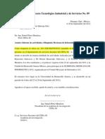 Informe OMI CBTIS 89-DGO