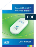 E220 USB Modem User Manual