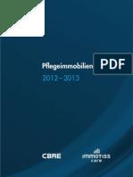 Pflegemarktreport 2012 immoTISS care_CBRE
