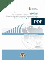 Rapporto Dia - Secondo Semestre 2011