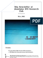 The Blue Mountains UFO Research Club Newsletter - May 2012