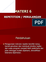 Materi 5a - Repetition-perulangan