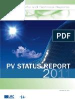 PV Status Report 2011