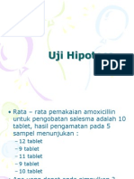 2. Uji Hipotesa
