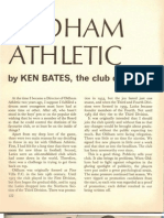 Club Call... Oldham Athletic by KEN BATES, The Chairman 1967