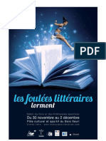 Les Foulees Litteraires 2012 - dossier de presse