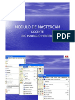 Modulo de Mastercamx