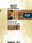 Karl Marx - Los Apuntes Etnológicos de Karl Marx  (1880-1883) [Edición a cargo de Lawrence Krader]