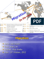 Human Migration by Adil