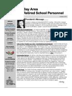 BARSP October 2012 Newsletter