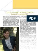 Revista Oir Ahora Nro9 Cambio de procesador