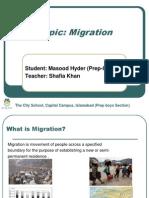 Human Migration by Masood