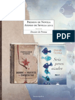 Dossier Premios Novela Ateneos 2012