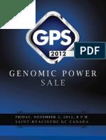 Sale Catalog - Genomic Power Sale