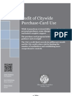 The city of Sacramento's audit of  credit cards use by city employees