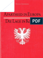 Apartheid in Europa, Die Lage in Kosova