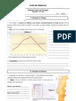Ficha 4 - Radiação solar em Portugal