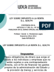 Renta - Derecho Tributario III 2012 Udla