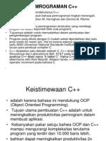 Pemrograman c++(Update)