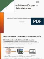 Sistemas de Informacion Para La Administracion1