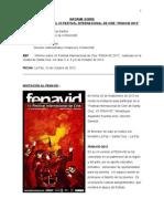 Informe Narrativo Festival Fenavid 2012 (1)