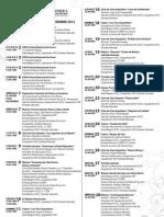 PROGRAMACIÓN ACTIVIDADES CULTURALES NOVIEMBRE 2012 - UCSC