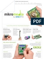 Mikromedia for STM32 M4 - ARM Cortex-M4 Development Board