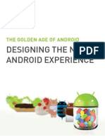 Designing the New Android Experience