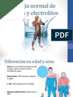 Fredy Guillen - Fisiología normal de líquidos y electrolitos
