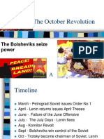 The October Revolution- Russia 1917 | IGCSE Depth Study.