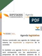 Presentación Agenda Legislativa / Diputados Ciudadanos